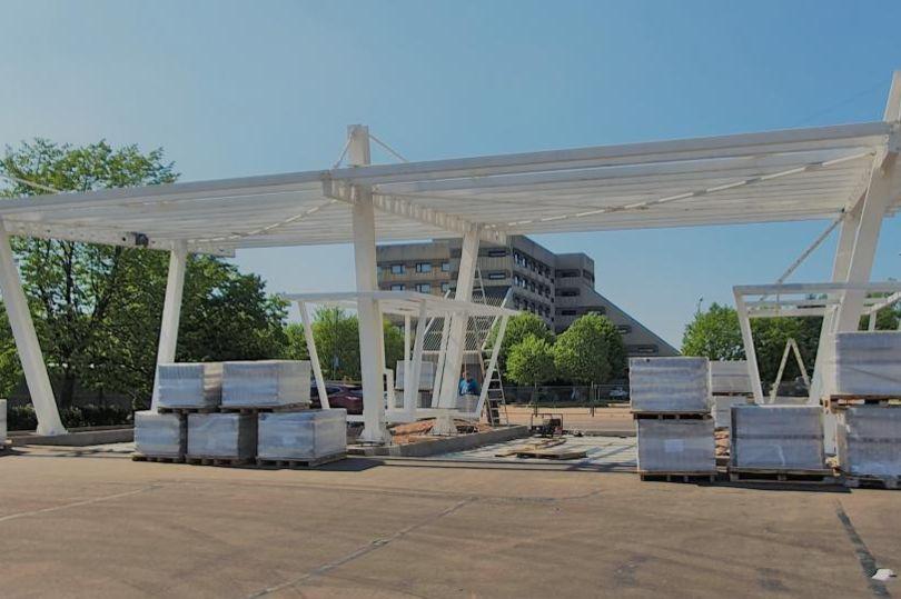 строительство автовокзал