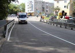 В Калининграде открыто движение по мосту через Гагаринский ручей