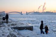 МЧС предупреждает о понижении температуры в Петербурге
