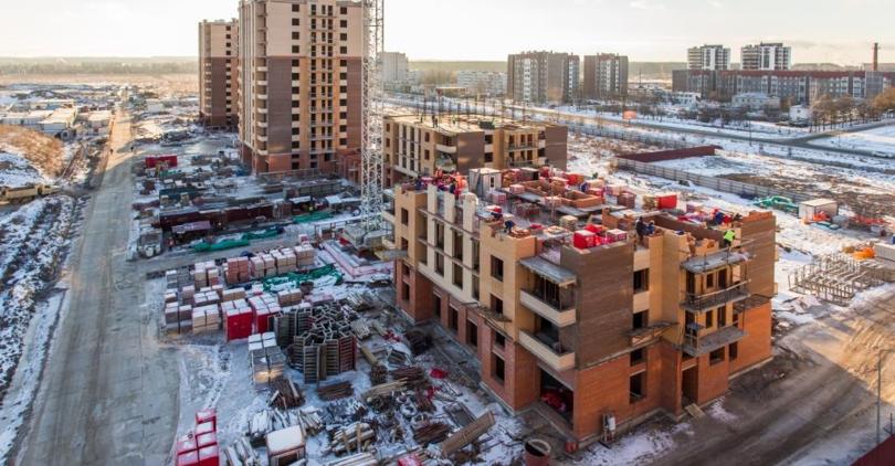Строительство жилого комплекса NEWПИТЕР
