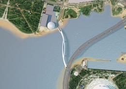 В Петербурге началось строительство Яхтенного моста