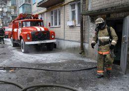 Ребенок погиб при пожаре в коммуналке