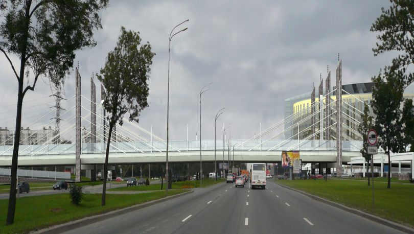 Строительство развязки на Дунайском  выполнено на 60%