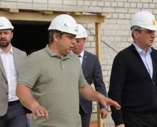 Детский сад в Вельске Архангельской области будет сдан к началу декабря