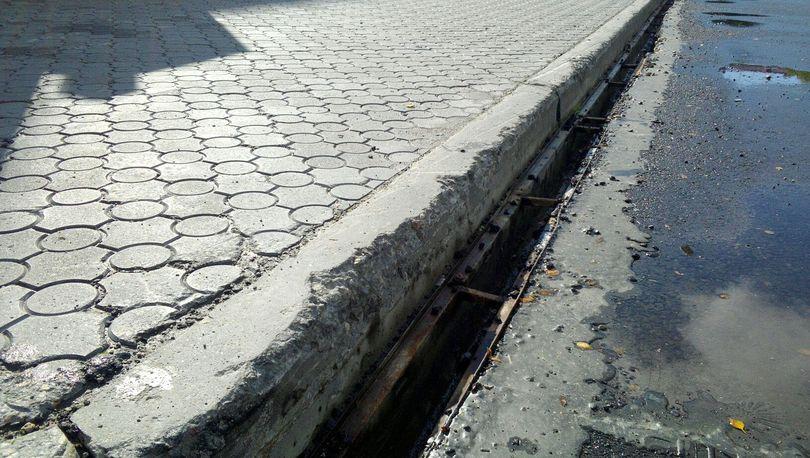 Завершен  первый этап строительства ливневой канализации  в Коломягах