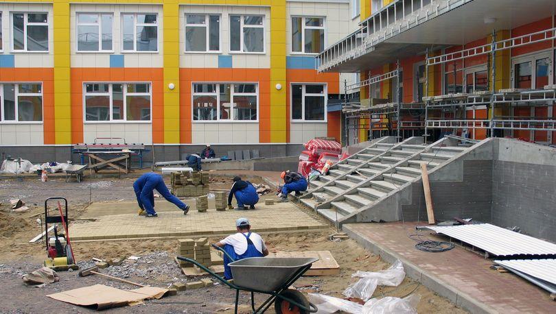 Школу в Сясьстрое отремонтируют к сентябрю
