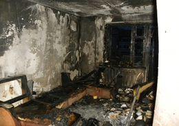 На Костюшко тушили квартирный пожар