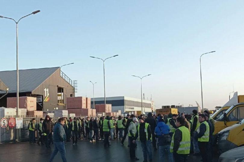 забастовка водителей