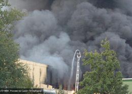 Пожар на деревообрабатывающем комбинате ликвидировали на вторые сутки