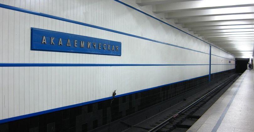 стальные двери метро академическая