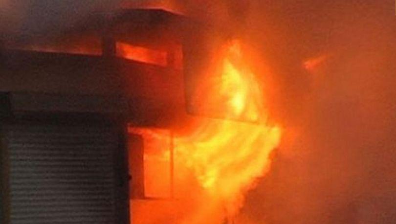 В Купчино горел магазин