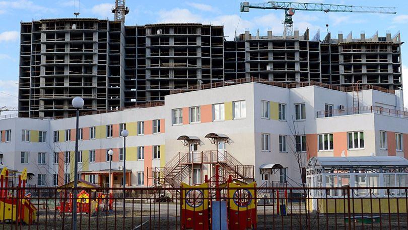 детский сад уже построен