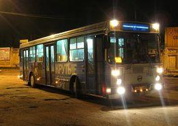 В первые выходные ноября ночные автобусы перевезли 2,4 тыс. пассажиров