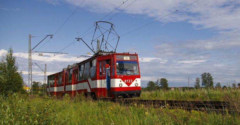 Из-за ремонта Кронштадтского путепровода изменяется движение трамваев