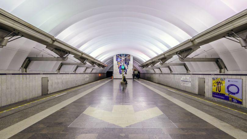 метро «Чкаловская»
