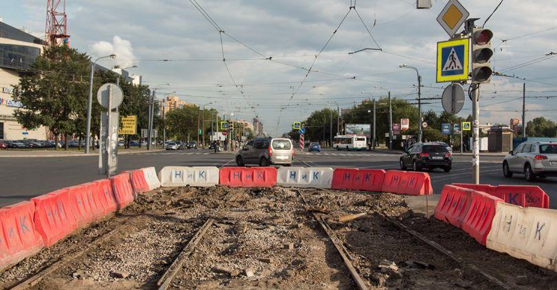 Ремонт трамвая