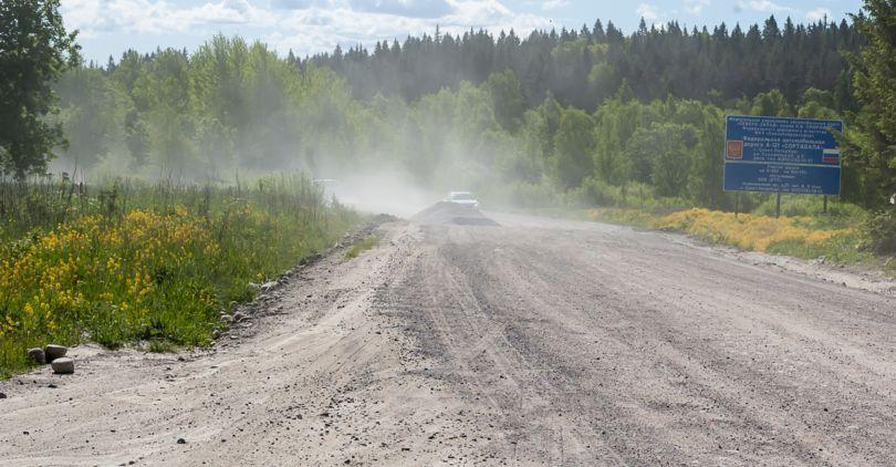 ВЛенобласти началась реконструкция участка дороги «Сортавала» наКарелию