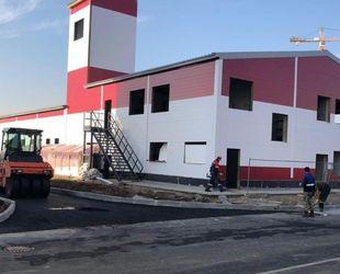 В Ленобласти построят 10 быстровозводимых депо для добровольной пожарной охраны