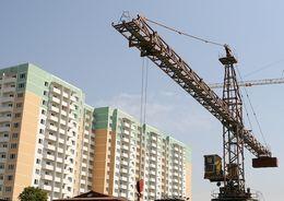 В РФ снижается объем ввода жилья