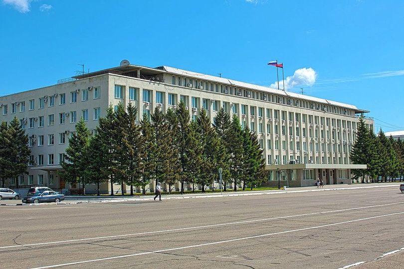 Здание Правительства Амурской области