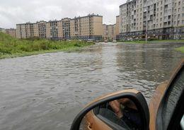 Водоканал: Канализационная сеть города справляется с приемом осадков