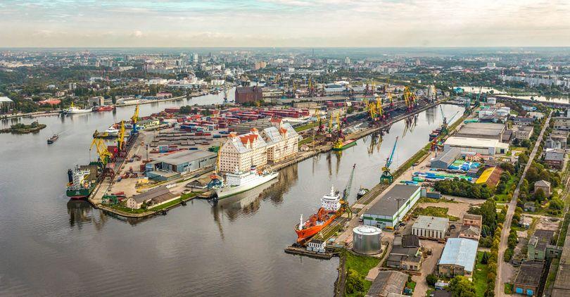 В инфраструктуру Калининградского порта вложат 197 рублей