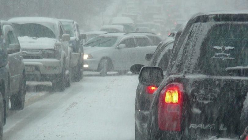 МЧС: В Петербурге «оранжевый» уровень опасности из-за метели
