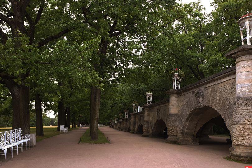 «Рамповая аллея» в Екатерининском парке