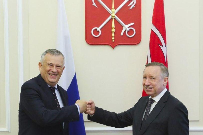 Беглов и Дрозденко