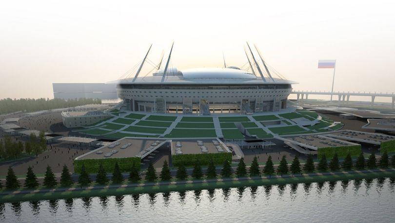 Обустройством подходов к «Зенит-Арене» займутся москвичи