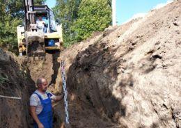 ремонт водопроводной сети в Шлиссельбурге