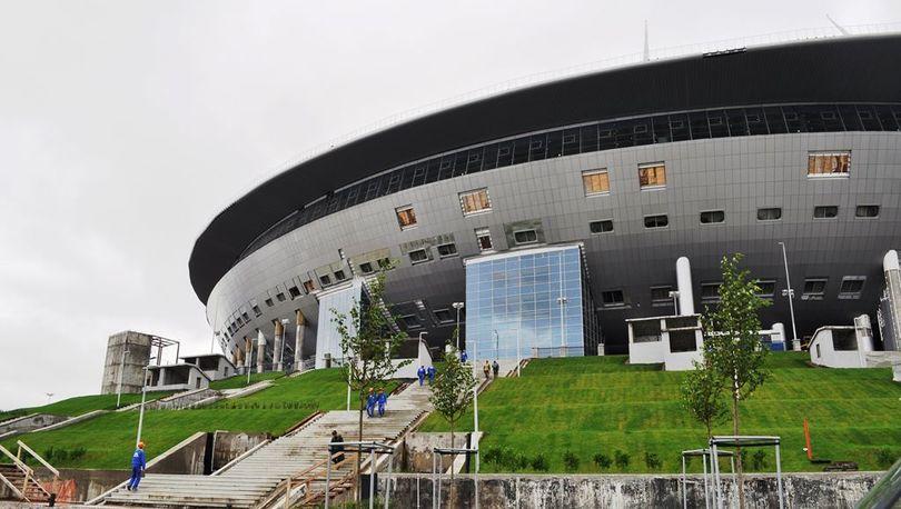 Дерипаска с Полтавченко и Албиным обсудили «Зенит - Арену»