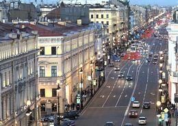 Невский проспект будут ремонтировать ночью по выходным