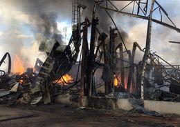 В Выборге восстановят сгоревший завод по производству свечей