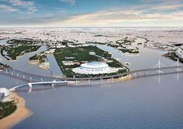 Монтаж конструкций Яхтенного моста завершат к январю