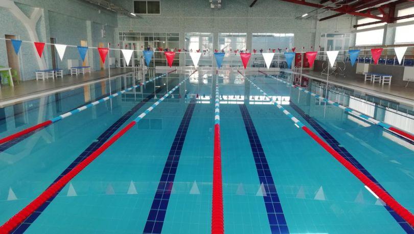 Чаша бассейна в новом комплексе