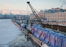 Пироговскую набережную могут открыть к 27 мая