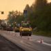 Ремонт Красносельского шоссе уходит в ночь