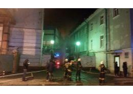 В Петербурге горела Василеостровская ТЭЦ