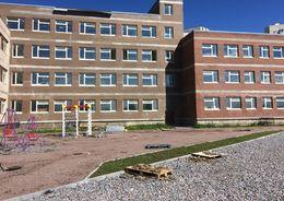 В Купчино строящаяся школа пошла трещинами