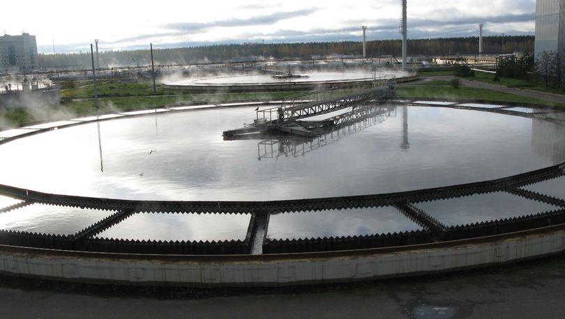 Водоочистные сооружения Петербурга