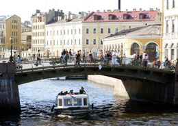 В Петербурге открывается навигация