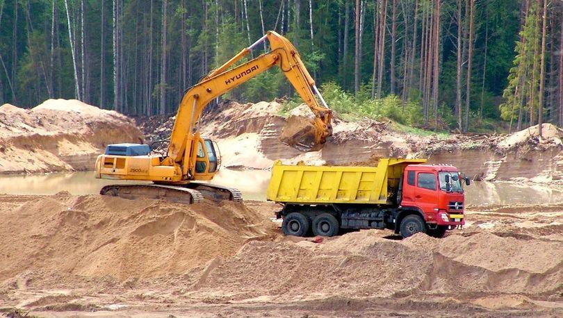 Спрос на песок растет