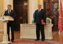 Полтавченко и Макаров поздравили строителей с праздником