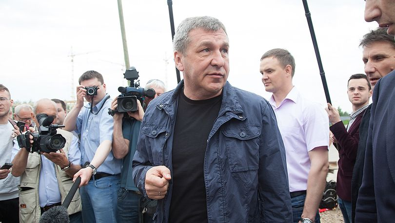 Албин переехал на «Зенит - Арену» до окончания работ