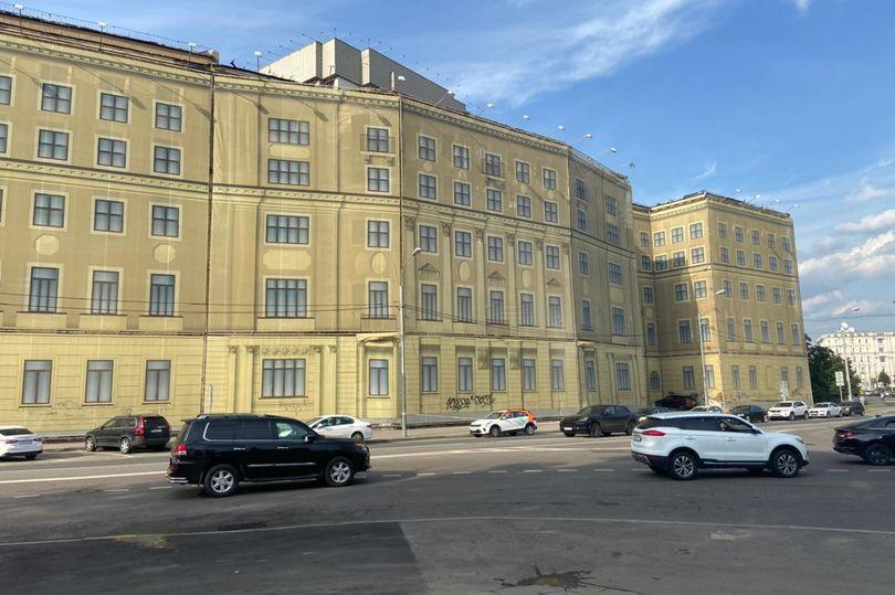 бывшее общежитие Военной академии