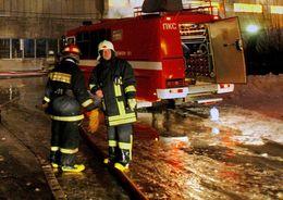 Пожар на Московском вокзале ликвидирован