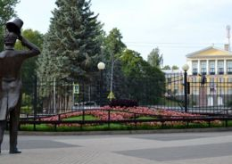 парк в Зеленогорске