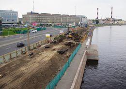 Возобновлен поиск подрядчика на достройку Синопской набережной