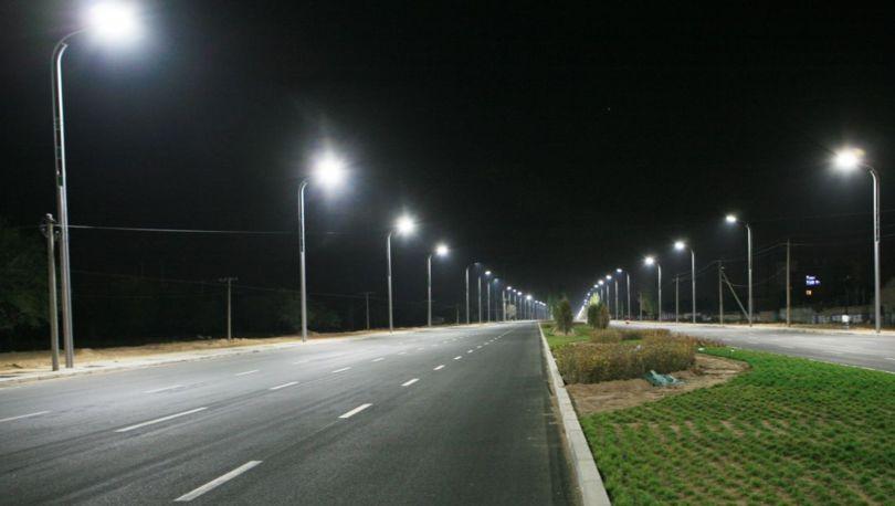 освещение шоссе
